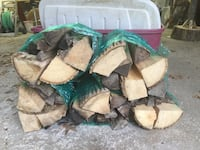Fire wood bundles dried and ready for a warm fire , Reminderville, 44202