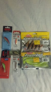 Ice fishing tackle Winnipeg, R2L 2A4