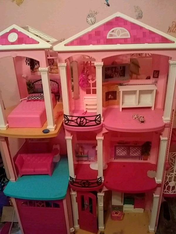 Used 3 Story Barbie Dream House For Sale In Ovilla Letgo
