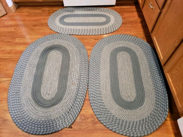 Used 3 Blue Braided Rugs For Sale In Jasper Letgo