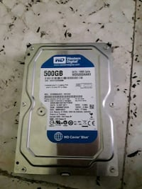 Western Digital 500GB harddisk