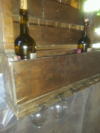 Rustic Wine Bar, holds bottles and glasses Orlando, 32808