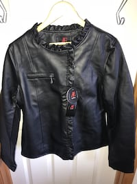 Brand New with tags Women's Medium faux leather jacket Edmonton, T5T 6B1