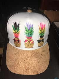Brand new Pineapple hat with a cork beal  - still has tags  Louisville, 40258