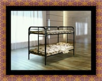 Twin bunk bed frame with mattress Alexandria, 22306