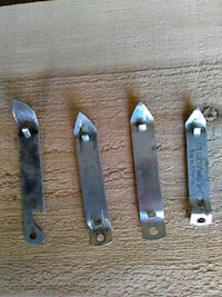 4 church-keys old-fashioned can and bottle openers Porterville, 93257