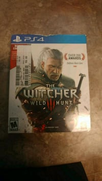 Sony PS4 The Witcher Wild Hunt case El Paso, 79934