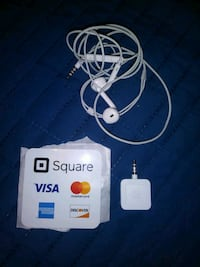 Square Reader & Iphone earbuds