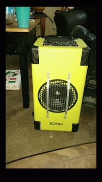 black and yellow portable air cooler box Chicago, 60628