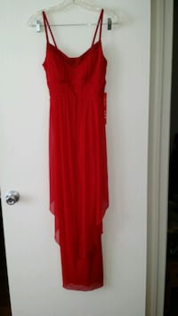 Long Red Dress New with tags Size 8 Placentia, 92870
