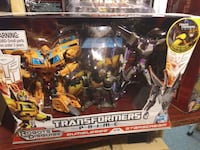 Transformers Prime action figure with box