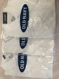 Old navy white short sleeve polo shirts Vaughan, L4H 0J6