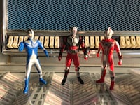 Ultraman Masked Rider Japanese rare action figures rubber Rowland Heights, 91748