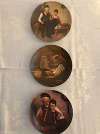 Norman Rockwell Collector Plates Sterling Heights, 48310