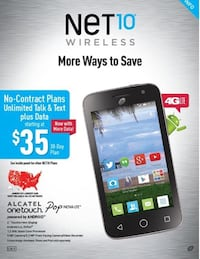 New Net10 Alcatel Pop Nova Android Smartphone Prattville, 36067