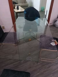 Glass table leg for chairs had it for 2 months