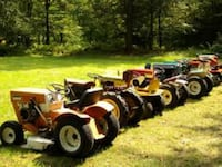 Wanted, free neglected lawn tractors any condition