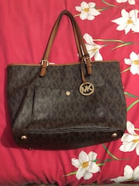 black Michael Kors leather tote bag Manassas Park, 20111