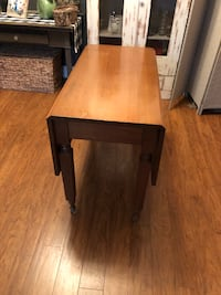 Table antique folding