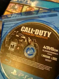 Call of Duty Advanced Warfare PS4 game disc Bakersfield, 93305
