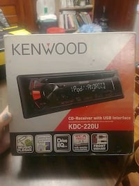 Kenwood Car Radio Hastings