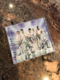 **RARE** Autographed Backstreet Boys Millennium CD St Catharines, L2N 7S9