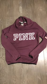 maroon and white Pink by Victoria's Secret sweater Mississauga, L5H 2Z6
