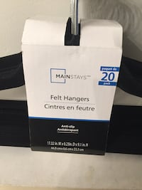 20 Felt Hangers - Never Been Used Vaughan, L4L 7G4