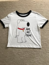 Ladies Family Guy Crop Top Size Small London, N6G