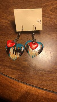 One direction earrings Vienna