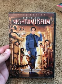 Night at the Museum DVD Sterling, 20165