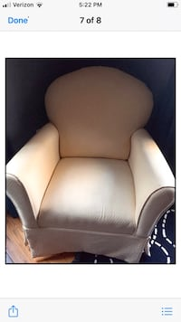 Girls chair / foot stool also