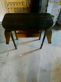 Small vanity side table