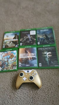 Xbox one controller scuff 6 games  University Heights, 44118