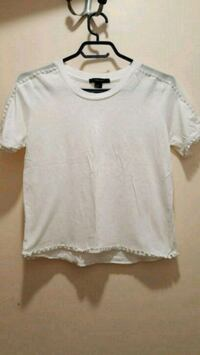 white crew-neck t-shirt small forever 21 Montreal