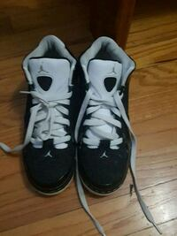 pair of black-and-white Nike basketball shoes Roanoke, 24012