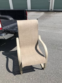 Patio chairs. Set of four 525 mi