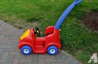 red and blue Little Tikes cozy coupe WINNIPEG