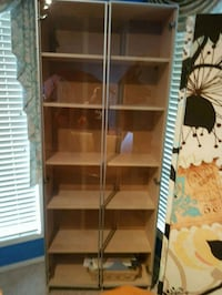 Glass Doored Great Condition Shelving Unit Calgary, T3G 5H2
