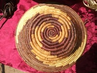 African Handwoven Basket Washington