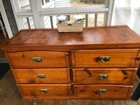 Solid wood dresser or buffet  good condition all drawers work Clayton, 27520