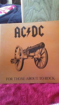 ACDC - For those about to rock VINYL RECORD Tucson, 85705