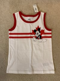 BNWT Toddler Boys 4T Mickey Mouse tank