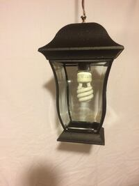 black lantern with CFL bulb Richmond Hill, L4E
