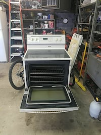 gray and black induction range oven Northfield, 44067