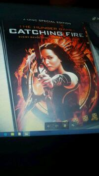 The Hunger Games Catching Fire 2 disk DVD  Oslo kommune, 0986