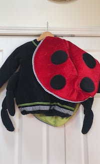 Pottery barn ladybug costume girls size 4/6. Johnson, 10933