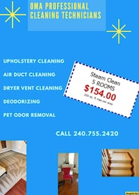 Carpet cleaning Montgomery County