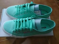 Superga 39 color Tiffany NUOVE  6814 km