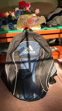 Black and gray adidas backpack Frederick, 21702